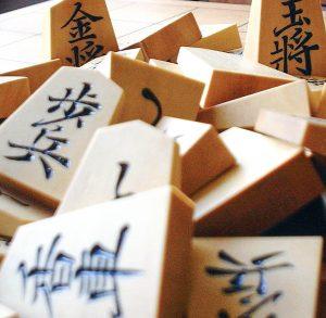 Shôgi, jeu de société japonais, réflexion, intuition, cérébralité